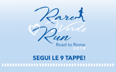 Rare Words Run: segui tutte le tappe!