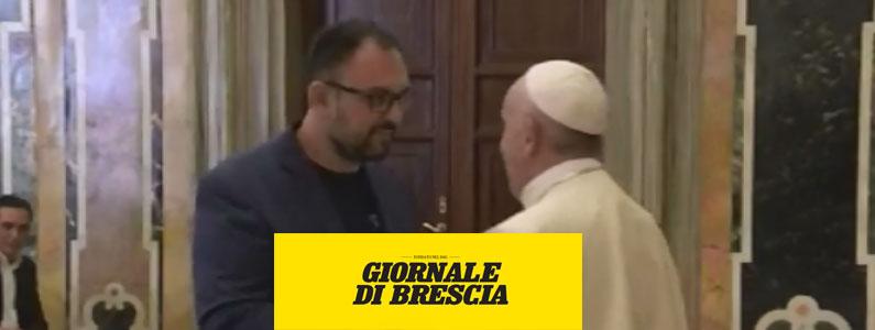 Il papa all'onlus Una Vita Rara: «Siete il miracolo dell'amore»